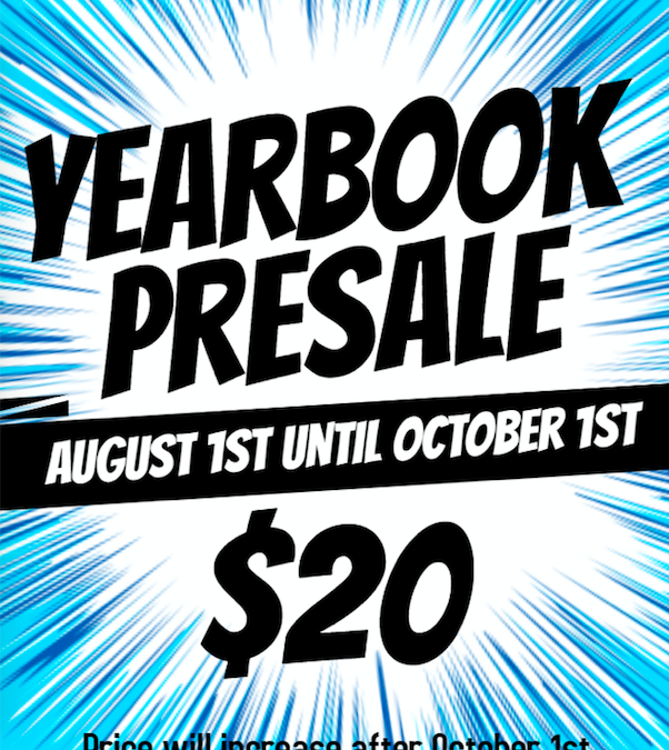 Yearbook Pre-sale